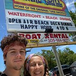 Our quick get away from Miami together with my son!