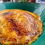 Natilla de batata quemada.........espectacular