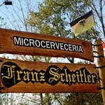 Cartel Cervecería Franz Scheitler