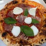 Una Pizza Foto