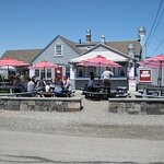 Not just lobsters. We had excellent fish chowder and blueberry pie to die for.