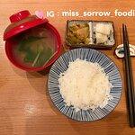 本日餐湯/ 白飯(使用日本米)