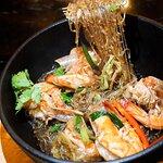 📍 泰式鮮海蝦粉絲煲 ($198)