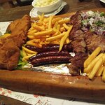 Food in the Danube hotel