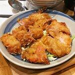 鹽酥雞扒雞肉飯定食