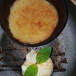 Cocoda quente com sorvete