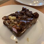 Extra special Rocky Road slice with nuts...mmmmmmm.