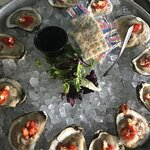 Oysters on the half shell...