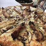 Segundo plato: Pizza de pollo