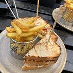 Club sandwich.... delicious!