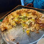 This is the BBQ Porky G'ZA. Could've used more pulled pork but was great