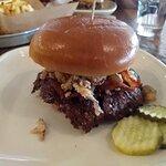 Western Bleu Cheese burger