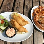 Great selection of food from the Pear Tree menu