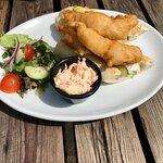 The posh fish finger sandwich - tasted lovely