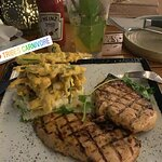 This is the Moroccan spiced grilled chicken breast fillets absolutely wonderful !