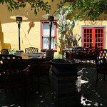 Moscato..courtyard....