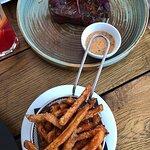 Marha steak édesburgonyával