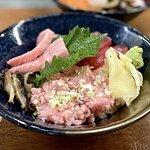 吞拿魚丼定食 ($198)