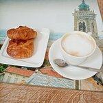 Кофе +булочки с творогом