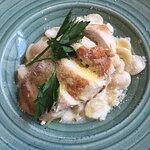 Орекьетте с курицей и сливочным соусом