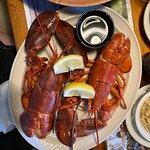Twin Steamed Lobster