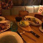 Lubina al Vapor con Jengibre y Cebolletas con Salsa de Soja