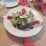 Εξαιρετική η πράσινη σαλάτα με τα μανιτάρια!