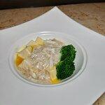 蟹肉扒嫩豆腐