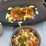 salade thai saumon fruit de la passion