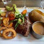 350 g husets steak - perfekt stegt