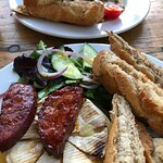 Baked Brie with Chorizo