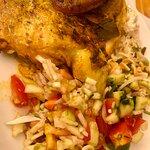 pollo al horno especiado