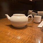 Pot of oolong tea