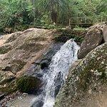 Cachoeira dentro da propriedade