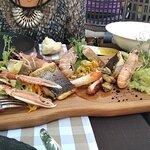 Main seafood dish