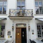 Eingang des Hotels de la Couronne, Solothurn