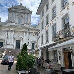 Lage des Hotels de la Couronne mitten in der Solothurner Altstadt