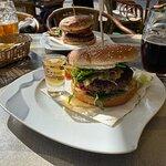 Jim beam burger with bier