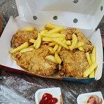 صورة فوتوغرافية لـ الدجاج الطازج