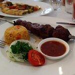 Шашлик з яловичої вирізки: