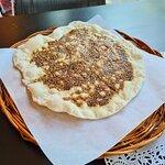 Arabisk brød med zatar