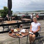 Frokost ved Stavns lystbådehavn