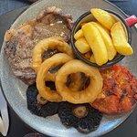 Rib-eye steak (medium-rare)