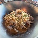 Alle Vongole, clams were wonderful