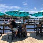 dock side seating