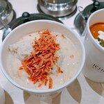 櫻花蝦雞肉丸濃湯