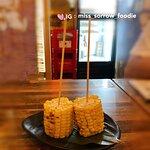 燒原條粟米