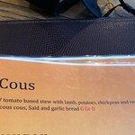 Bilde fra Cous Resturant