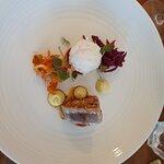 Seared Tuna with Kimchi & sticky Rice