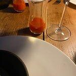 gazpacho çorbası.